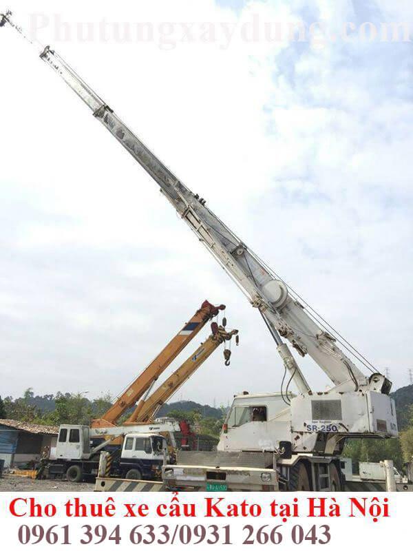 Bán và cho thuê xe cẩu bánh lốp Kato 25 tấn nhập khẩu Nhật Bản-2