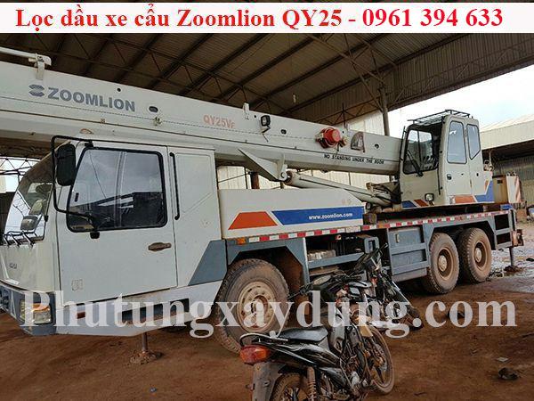 Bán lọc dầu dành cho xe cẩu Zoomlion QY25 chính hãng giá tốt-3
