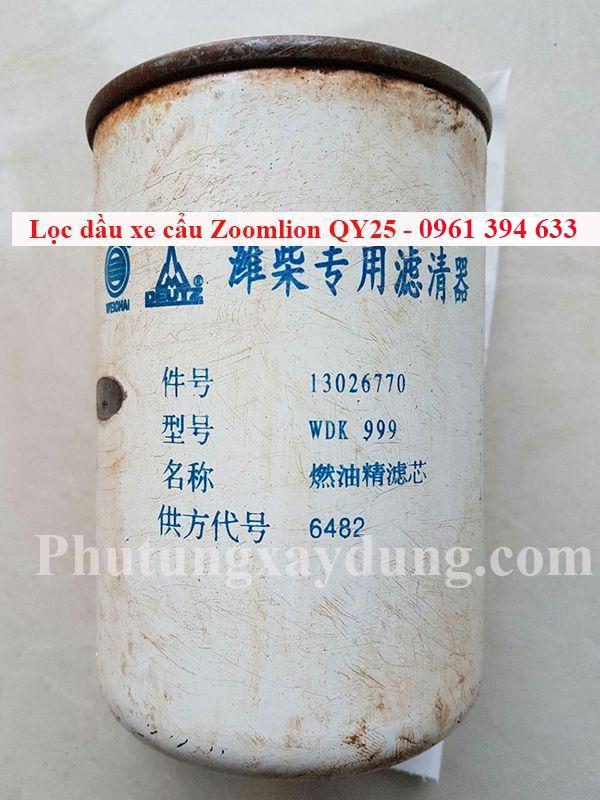 Bán lọc dầu dành cho xe cẩu Zoomlion QY25 chính hãng giá tốt