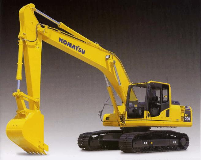 Chi tiết về máy xúc thủy lực Komatsu PC200-8, PC200LC-8