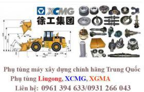 Thiết bị, phụ tùng máy công trình XCMG chính hãng Trung Quốc
