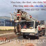 Bán và cho thuê xe cẩu bánh lốp 25 tấn Zoomlion QY25V