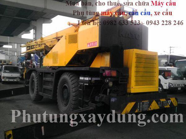 Bán và cho thuê xe cẩu bánh lốp Kato KR25 25 tấn-1