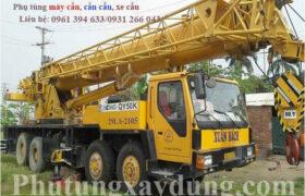Bán và cho thuê xe cẩu bánh lốp XCMG QY50K 50 tấn