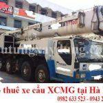 Bán và cho thuê xe cẩu bánh lốp XMCG 100 tấn chính hãng