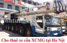 Bán và cho thuê xe cẩu bánh lốp XCMG 100 tấn chính hãng