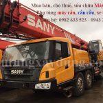 Bán và cho thuê xe cẩu lốp Sany STC500 50 tấn