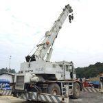 Bán và cho thuê xe cẩu bánh lốp Kato 25 tấn nhập khẩu Nhật Bản-1