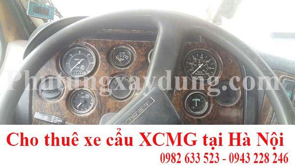 Bán xe cẩu bánh lốp XCMG 70 tấn QY80K sản xuất năm 2009