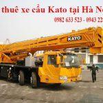 Cho thuê xe cẩu Kato giá rẻ nhất Hà Nội liên hệ 0982633523
