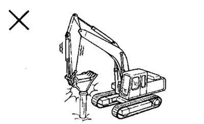 Để nâng cao tuổi thọ cho máy xúc đào cần phải chú ý-1