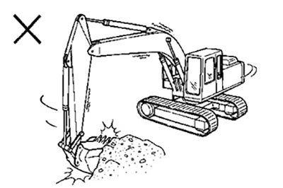 Để nâng cao tuổi thọ cho máy xúc đào cần phải chú ý