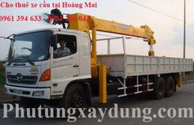 Cần thuê xe tải gắn cẩu tại quận Hoàng Mai gọi ngay 0961 394 633