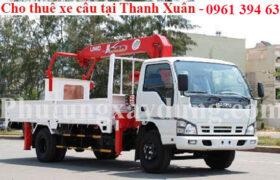 Cho thuê xe cẩu tại quận Thanh Xuân - gọi ngay 0961 394 633