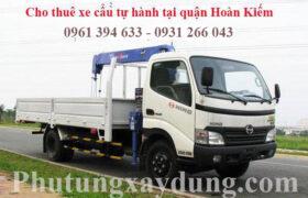 Cho thuê xe cẩu tự hành tại quận Hoàn Kiếm - Hà Nội