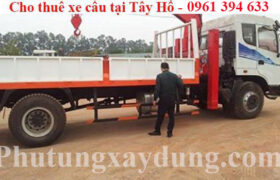 Cho thuê xe tải gắn cẩu tự hành tại quận Tây Hồ