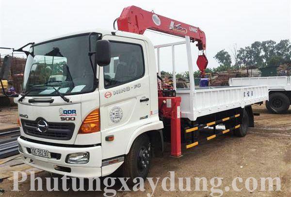 Chuyên cung cấp các dòng xe tải gắn cẩu từ 1 đến 10 tấn