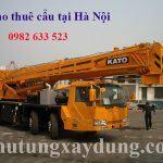 Dịch vụ cho thuê xe cẩu tại quận Đống Đa - Hà Nội