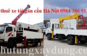 Dịch vụ cho thuê xe tải gắn cẩu tự hành tại Hà Nội giá rẻ