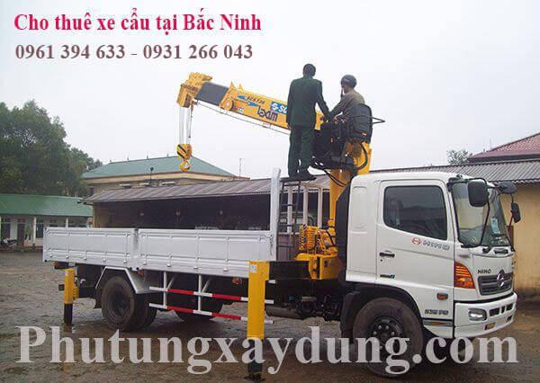 Muốn thuê xe cẩu tự hành tại Bắc Ninh gọi ngay 0961394633