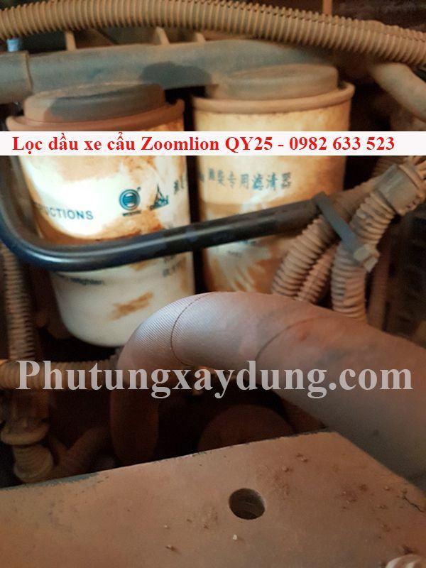 Bán lọc dầu dành cho xe cẩu Zoomlion QY25 chính hãng giá tốt-4