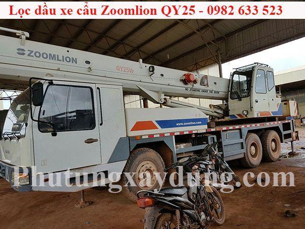 Bán lọc dầu dành cho xe cẩu Zoomlion QY25 chính hãng giá tốt-5