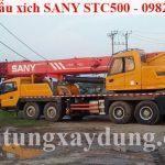 Bán xe cẩu xích SANY STC500 trọng tải 50 tấn