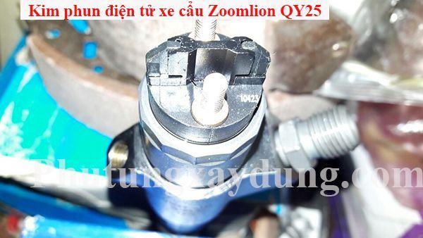Kim phun điện tử xe cẩu Zoomlion QY25 25 tấn