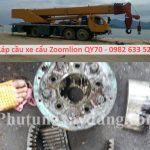 Láp cầu xe cẩu Zoomlion QY70 70 tấn