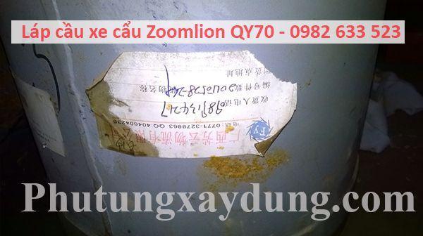 Láp cầu xe cẩu Zoomlion QY70 70 tấn-3