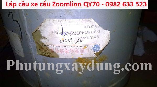 Láp cầu xe cẩu Zoomlion QY70 70 tấn-6