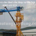 Mua bán và cho thuê cẩu tháp tại Hà Nội
