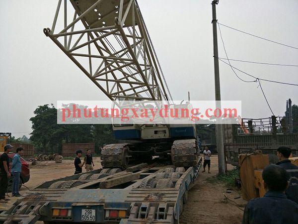 Bán cho thuê cẩu bánh xích Yutong YTQU55 trọng tải 50 tấn-1
