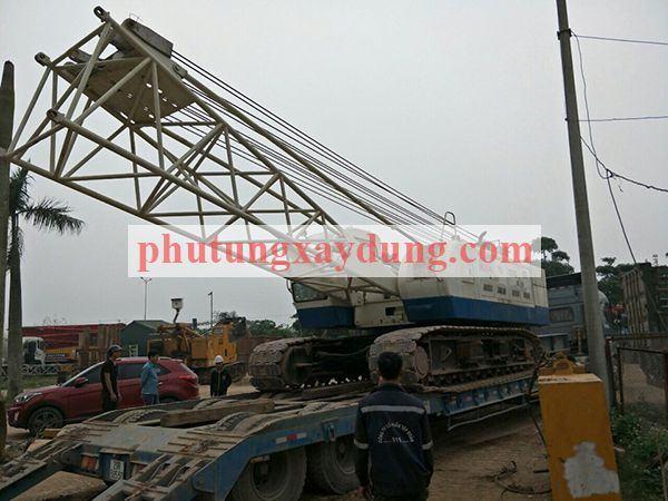 Bán cho thuê cẩu bánh xích Yutong YTQU55 trọng tải 50 tấn-2