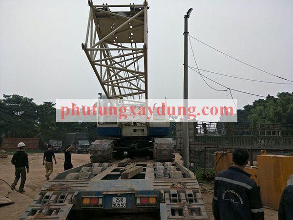 Bán cho thuê cẩu bánh xích Yutong YTQU55 trọng tải 50 tấn