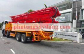 Bán xe bơm bê tông Hàn Quốc KCP cần dài 48m-1