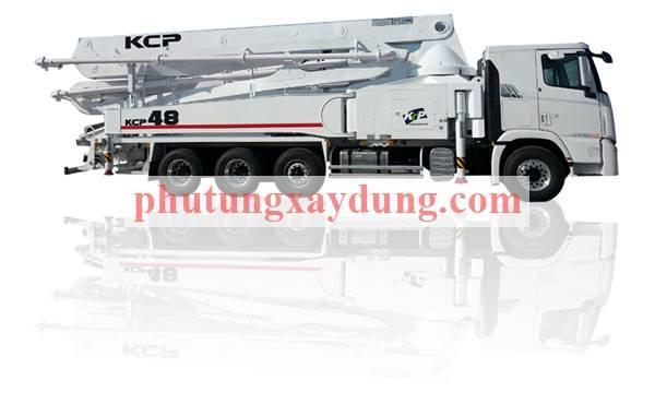 Bán xe bơm bê tông Hàn Quốc KCP cần dài 48m