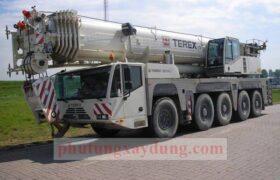 Bán cho thuê xe cẩu bánh lốp 200 tấn DEMAG AC200-1