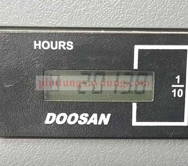 Bán máy xúc đào Doosan Dx55WA bánh lốp bản 2018 mới dùng hơn 2000h-5