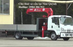Cho thuê xe cẩu thùng tại thị trấn Như Quỳnh, Hưng Yên